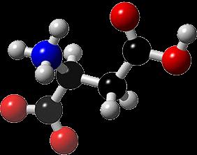молекула на Д – АСПАРАГИНОВА КИСЕЛИНА, която е елемент от състава на нашите хапчета за увеличение на тестостерона и чистата мускулна маса