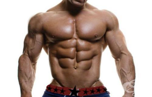 мускулест мъж с големи ръце