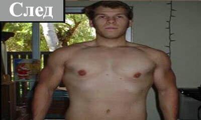 Митко, който е уголемил стремглаво своята мускулна маса