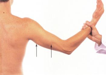 гол мъж, готов за мускулно увеличение